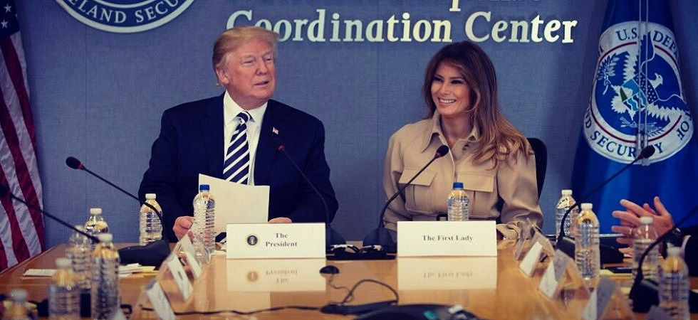 Melania Trump says she ignores rumors of Trump's infidelity (Photo- Twitter/@FLOTUS)