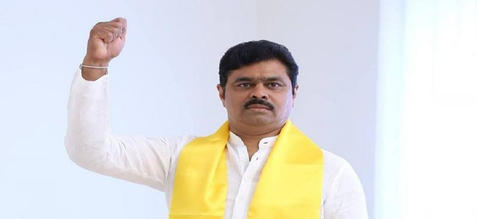 Hyderabad: Income Tax raids at Andhra TDP MP CM Ramesh's premises (Photo: Twitter)