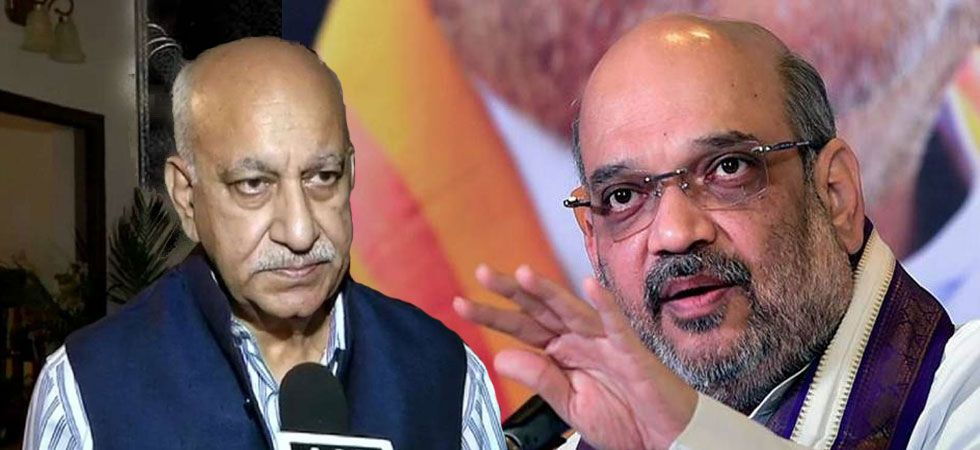 #MeToo: Amit Shah questions veracity of sexual harassment charges against MJ Akbar