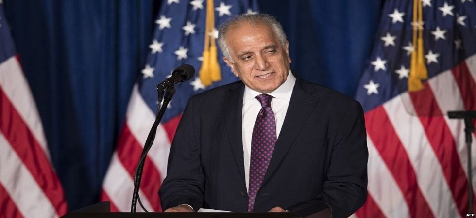 US envoy Zalmay Khalilzad (Photo- Twitter)