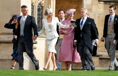 Guests who brought their fashion-A game at Princess Eugenie's wedding