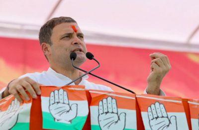 Rahul Gandhi in Madhya Pradesh: 'Beti Padhao' and protect them from BJP's MLAs, says Congress chief
