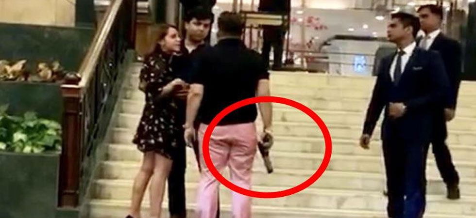 Ex-BSP leader's son waves gun, abuses woman at Delhi 5-star hotel; police registers FIR
