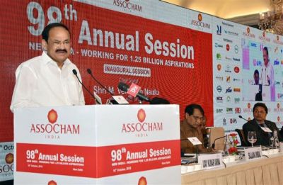 Indian industry needs to follow ethical corporate practices: Naidu