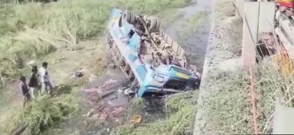 West Bengal: 5 dead, 20 injured as bus falls into Haripal canal in Hooghly