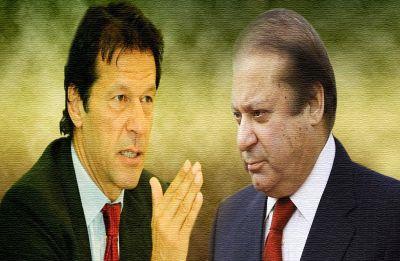 Will Imran Khan survive the blows from Nawaz Sharif?