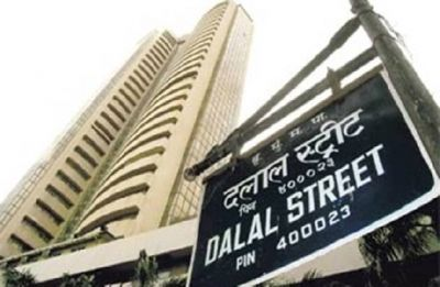 Sensex jumps 267 points tracking global cues, strong earnings