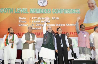 Amit Shah slams Congress Mizoram government as 'corrupt'
