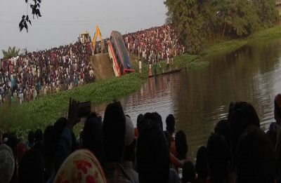 Assam: Seven dead, 20 injured after bus falls into pond between Guwahati and Mukalmu