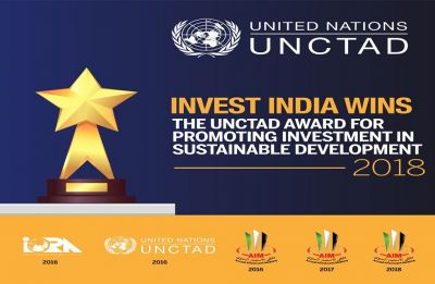 Invest India wins UN award for excellence in promoting investments in sustainable development