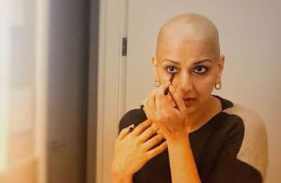 #SwitchOnTheSunshine with Sonali Bendre's new and oh-so-adorable look, find out here