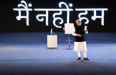 PM Modi in townhall meet with techies: What 'sarkar' can't, 'sanskar' can do