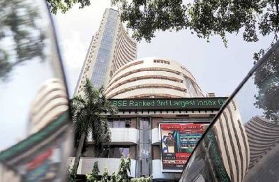 Sensex plummets 344 points on global meltdown, F&O expiry
