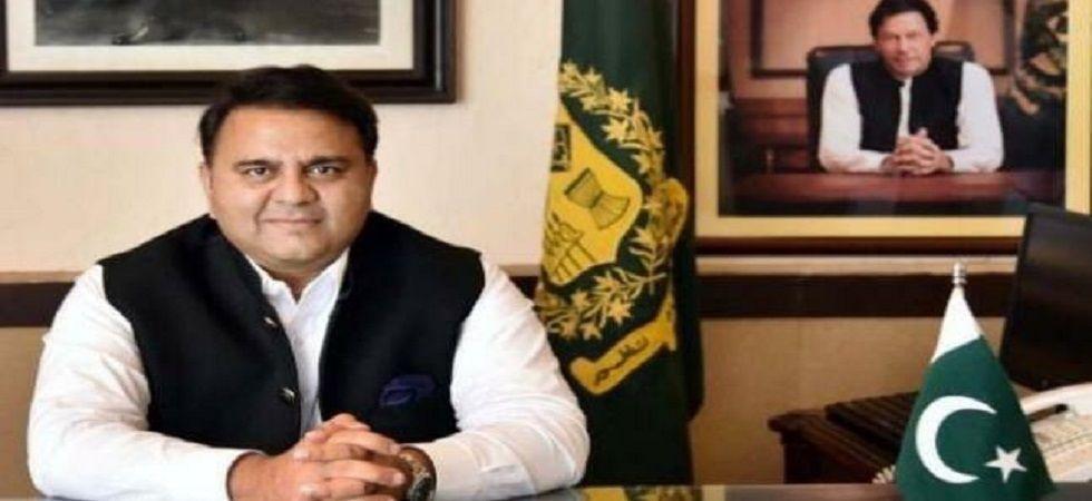 Pakistani Information Minister Fawad Chaudhry (Photo- Twitter)