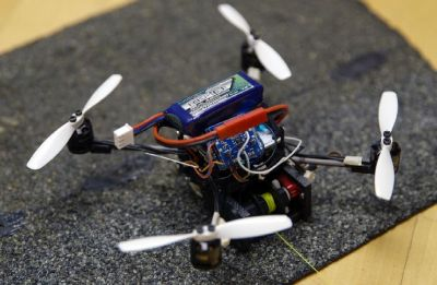 Small flying robots can haul heavy loads, help in rescue operations