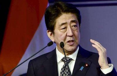 Japan PM Shinzo Abe welcomed near Tiananmen Square in rare China visit