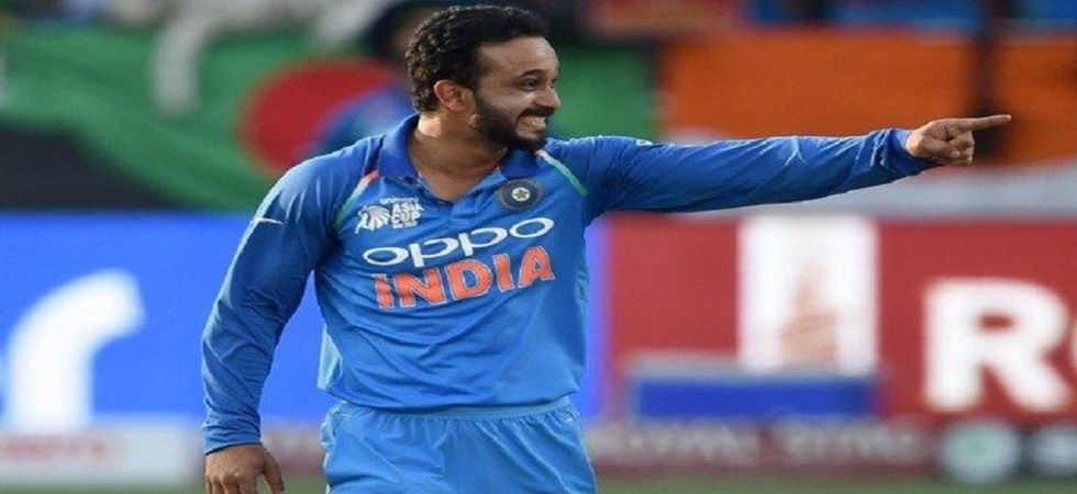 Kedar Jadhav's exclusion from the Indian squad has raised questions about the selection panel's apparent lack of communication. (Image credit: Twitter)