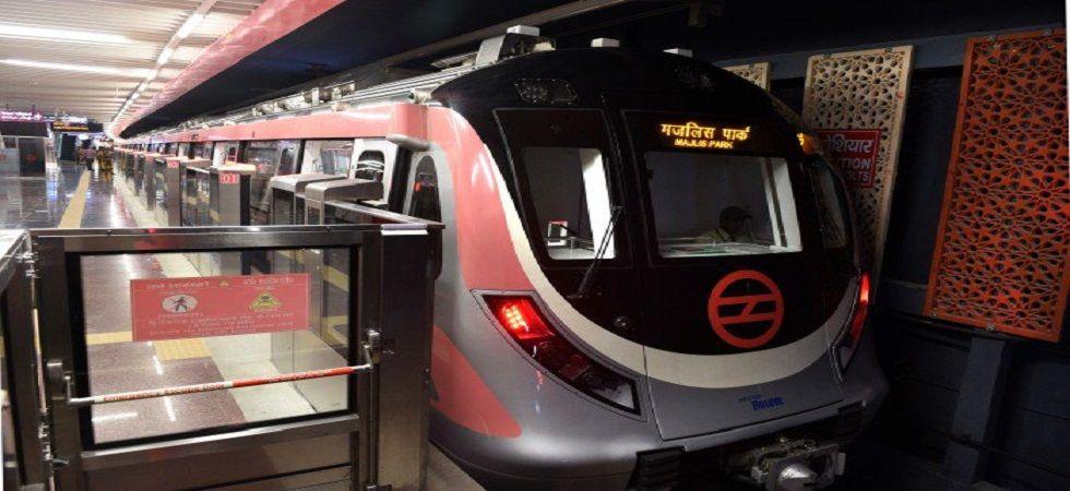Delhi Metro's Shiv Vihar-Trilokpuri section to be opened on October 31 (Photo- Twitter)