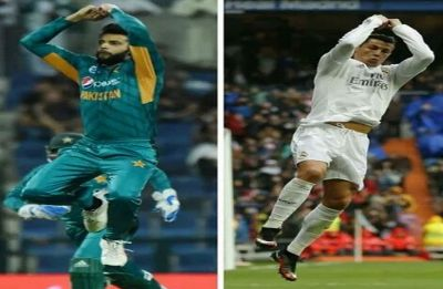 Imad Wasim's Cristiano Ronaldo-like celebrations take Internet by storm