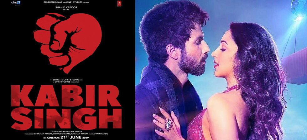 Shahid Kapoor and Kiara Advani's Hindi remake of Arjun Reddy titled Kabir Singh (Twitter photo)
