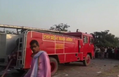 UP: Eight killed, three injured after explosion at firecracker factory in Badaun