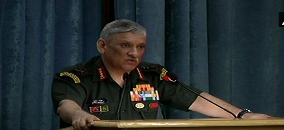 Indian Army chief Bipin Rawat (File)