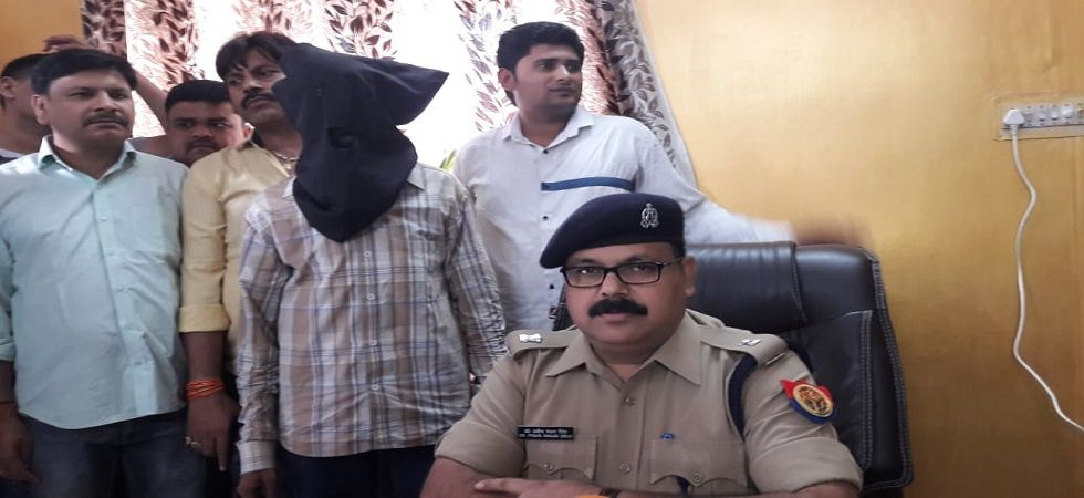 Uttar Pradesh: Man arrested for sending vital information, maps to ISI (Photo- Twitter/ANI)