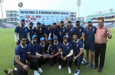 Deodhar Trophy: Ajinkya Rahane, Ishan Kishan tons give India C title; Shreyas Iyer ton in vain