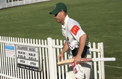David Warner walks off mid-innings during cricket match after 'hurtful' sledge