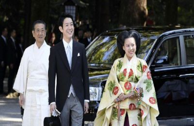 Japanese Princess Ayoka marries commoner in a shrine ceremony