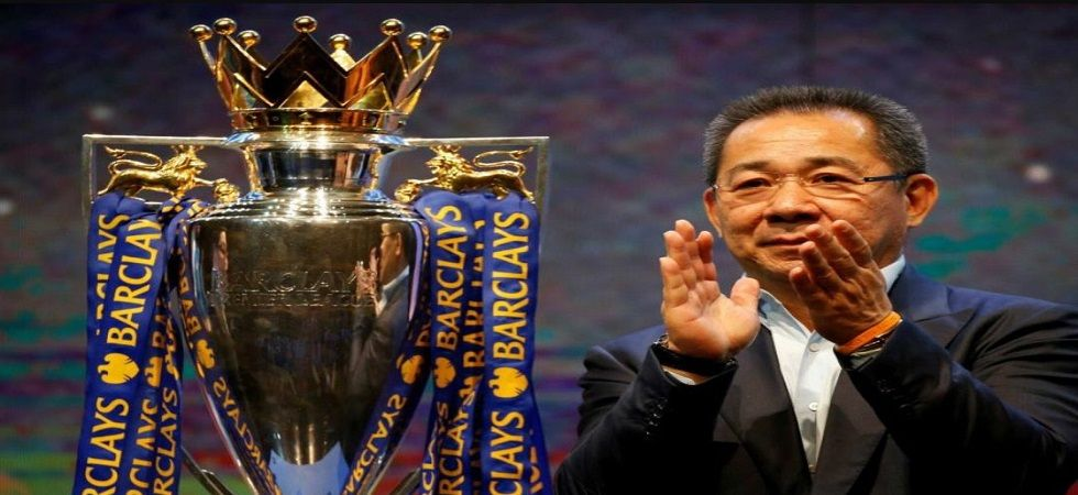 Leicester City chairman Vichai Srivaddhanaprabha has died in a helicopter crash on Saturday. (Image source: Twitter)