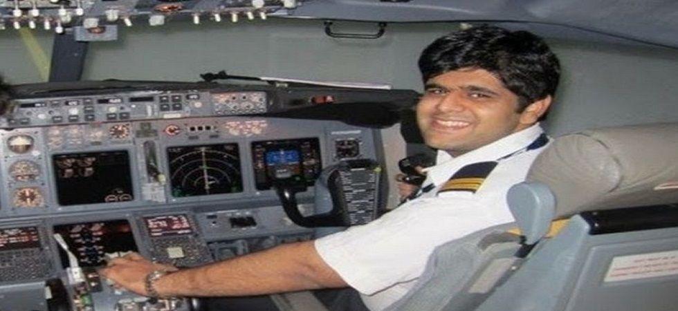 Indian pilot Bhavye Suneja