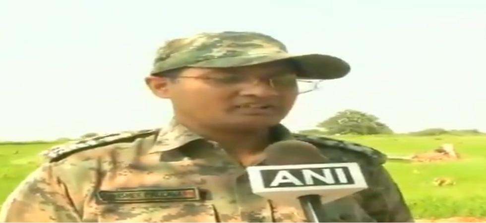 Dantewada Superintendent of police Abhishek Pallav. (ANI)