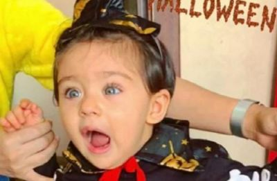 Soha Ali Khan's daughter Inaaya Naumi Kemmu as a 'cute witch' is the best Halloween treat for your eyes!