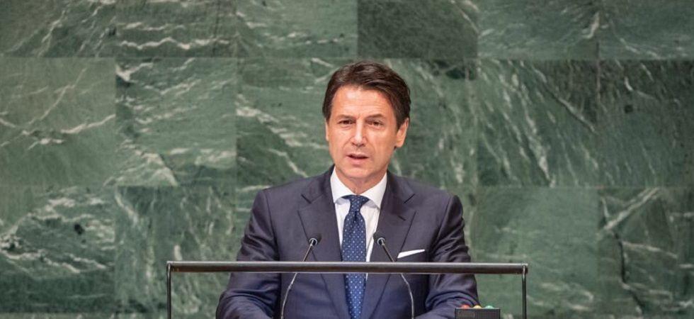 Italian Prime Minister Giuseppe Conte (Photo- Twitter)