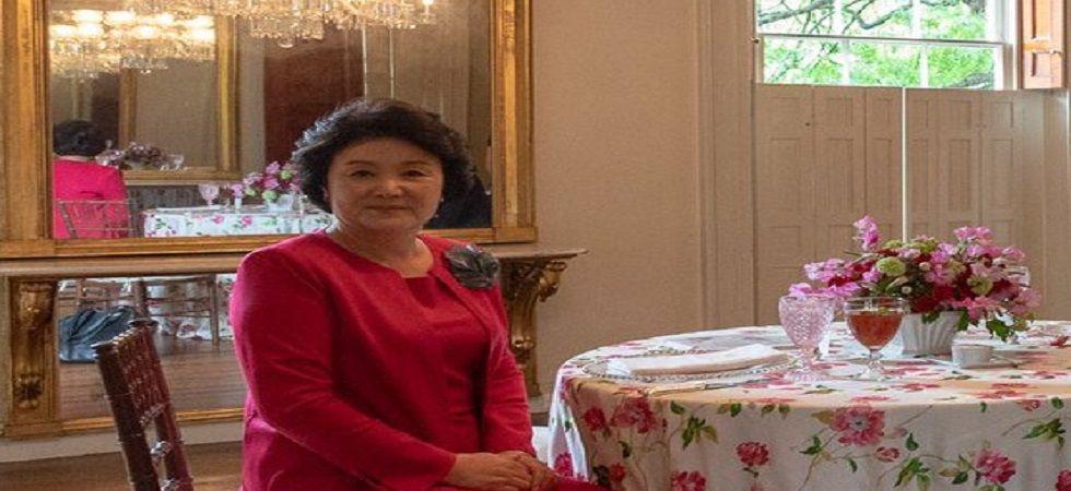 South Korean First Lady Kim Jung-sook (Photo- Twitter)