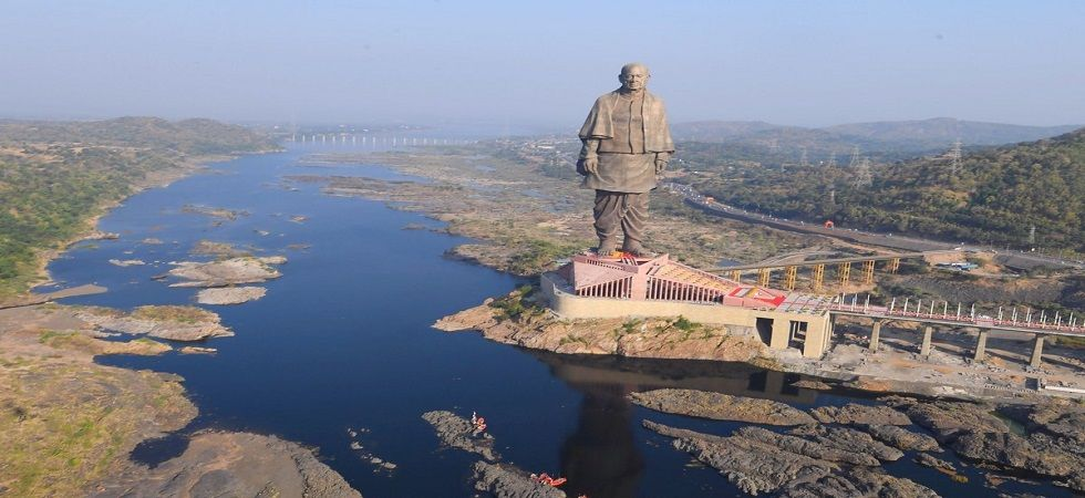 Statue of Unity in Gujarat (Photo- Twitter/@PMOIndia)