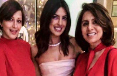 Neetu Kapoor and Sonali Bendre were part of Priyanka Chopra's bridal shower in New York