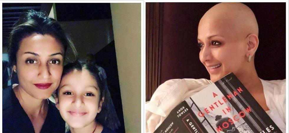 Namrata Shirodkar met Sonali Bendre and she has a good news to share/ Image: Instagram