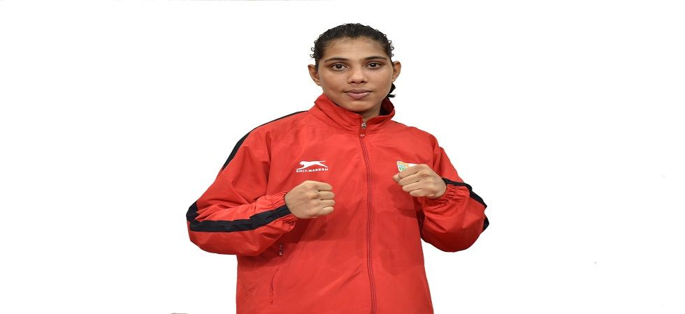 Manisha Maun from Kaithal, Haryana, is in the Indian squad along with MC Mary Kom and Sarita Devi for the Women's World Boxing Championship. (Image credit: BFI)