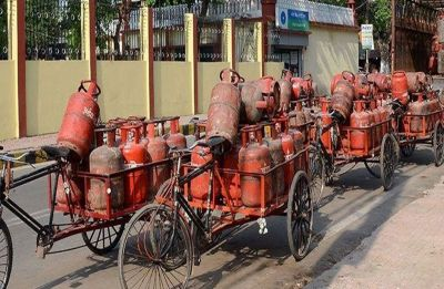LPG price hiked by Rs 2.94 per cylinder
