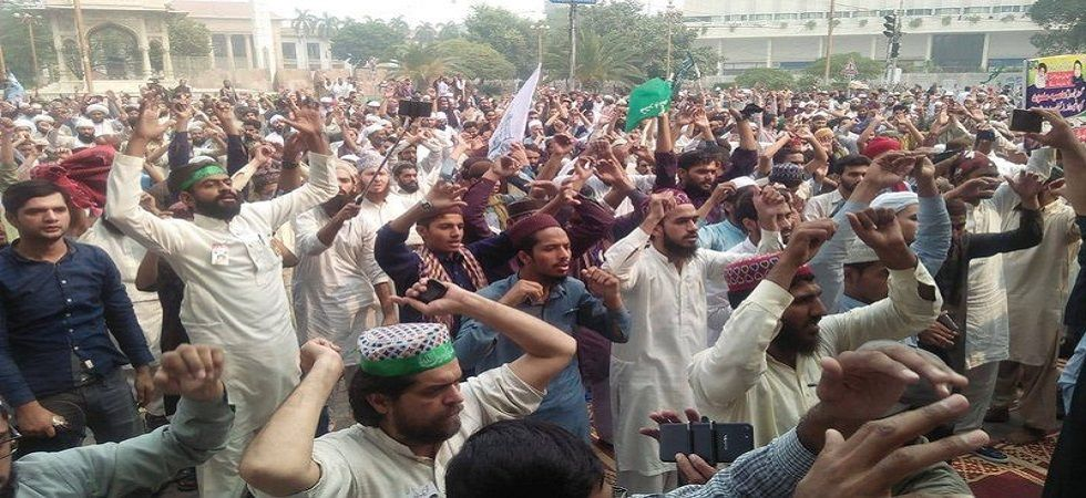 Pakistan on boil as radical Islamists protest against acquittal of Christian woman in blasphemy case (Photo- Twitter)