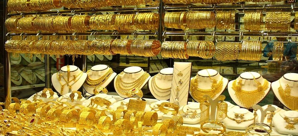 Gold prices up on festive season buying, global cues (File Photo)