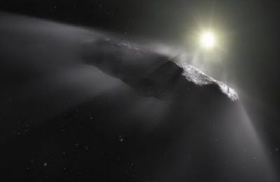 Oumuamua: Strange interstellar object may be an alien sail, say Harvard researchers