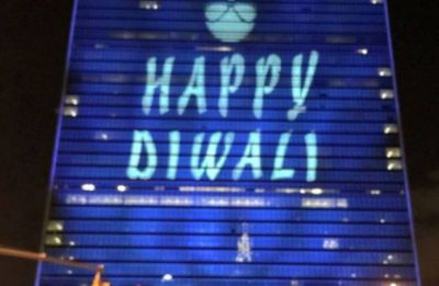 UN wishes Happy Diwali, issues special festive stamp