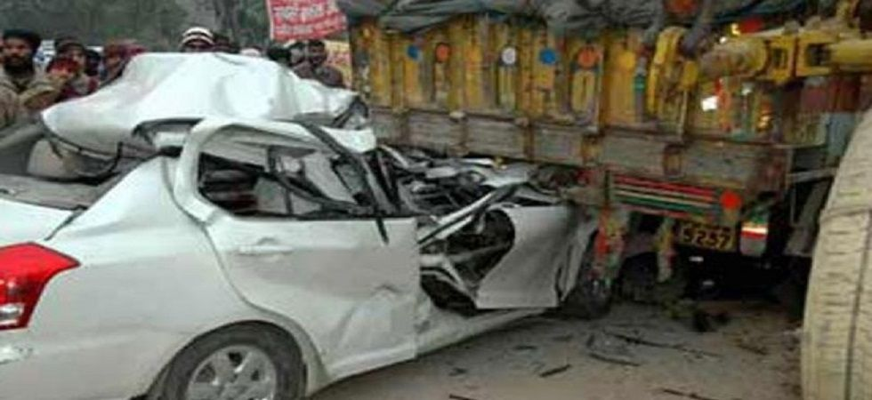 Haryana: 12 dead, 7 injured after truck rams into car in Sonipat (representative image)