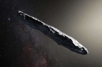 Mysterious cigar-shaped object spotted in Solar System could be 'alien relic', suggest Harvard astronomers