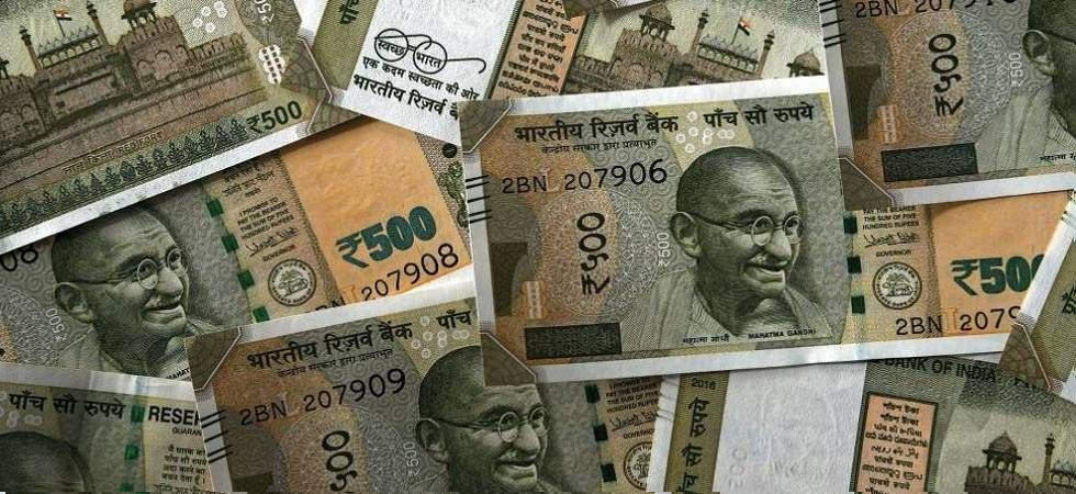 Rupee falls 34 paise against US dollar in early trade