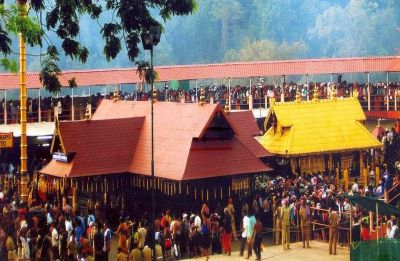 Sabarimala Row: Cameraman injured in protest; 52-year-old woman offers prayer amid police protection