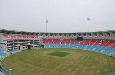 Yogi Adityanath inaugurates Bharat Ratna Atal Bihari Vajpayee Ekana Cricket Stadium ahead of India-Windies T20I